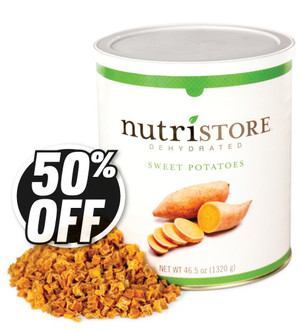 Nutristore™ Sweet Potatoes - Dehydrated