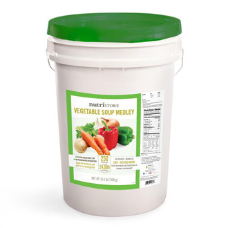 Nutristore™ Vegetable Soup Medley Bucket