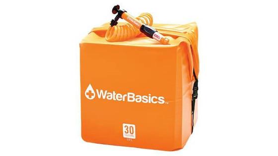 Water Basics 30 Gallon Water Storage Kit with Filter