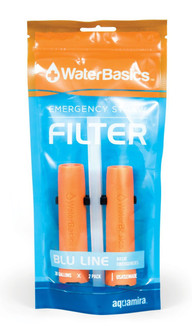 Water Basics Blue Line Emergency Straw Filter