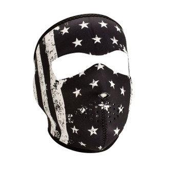 Neoprene All-Season Full Face Mask - Vintage Flag
