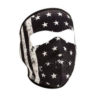 Neoprene All-Season Full Face Mask - Vintage Flag