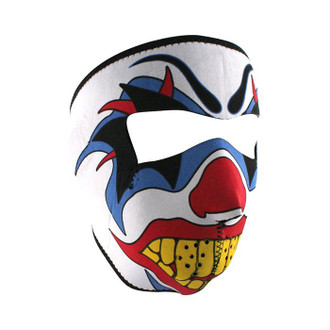Neoprene All-Season Full Face Mask - Clown