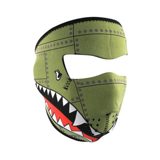 Neoprene All-Season Full Face Mask - WWII Bomber