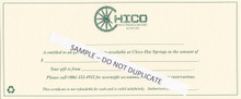 Chico Gift Certificates