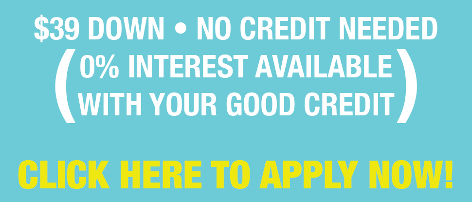 0% interest available with your good credit