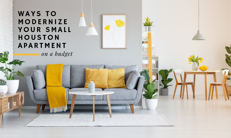 5 Ways To Modernize Your Small Houston Apartment On A Budget Bi