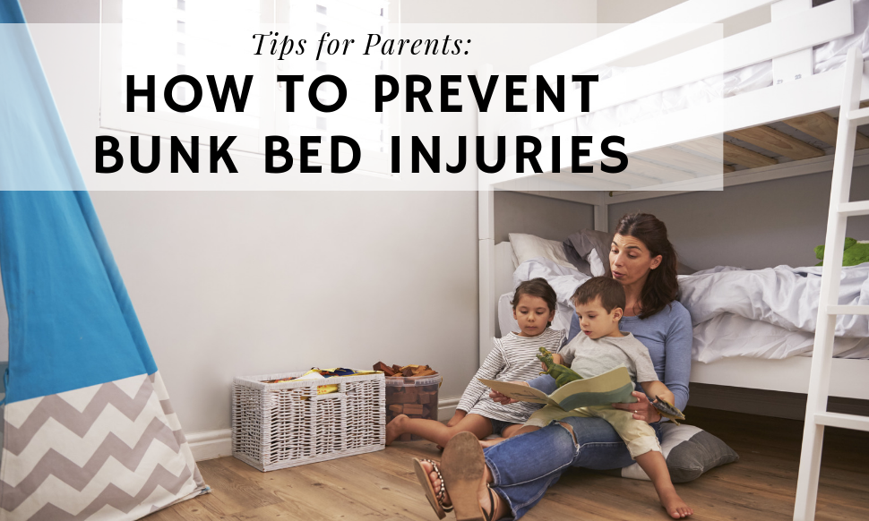 Tips for Parents How to Prevent Bunk Bed Injuries