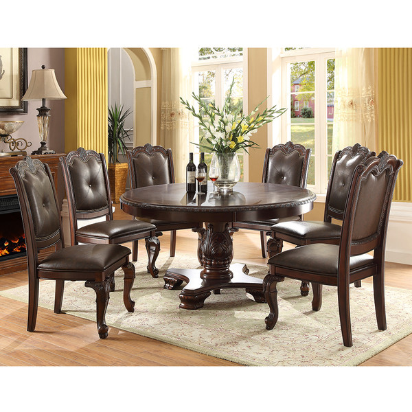 Crown Mark 2150-60 Kiera Round Dining Room Set