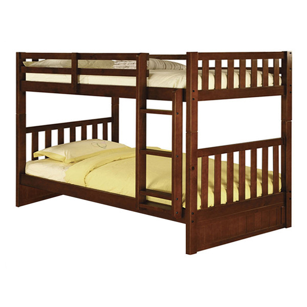 Merlot Twin Twin Bunk Bed
