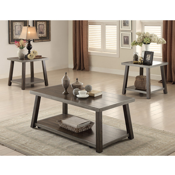 Crown Mark 4243 Miles Coffee and End Tables