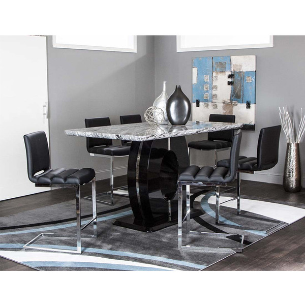 Dyane Counter Height Dining Room Set