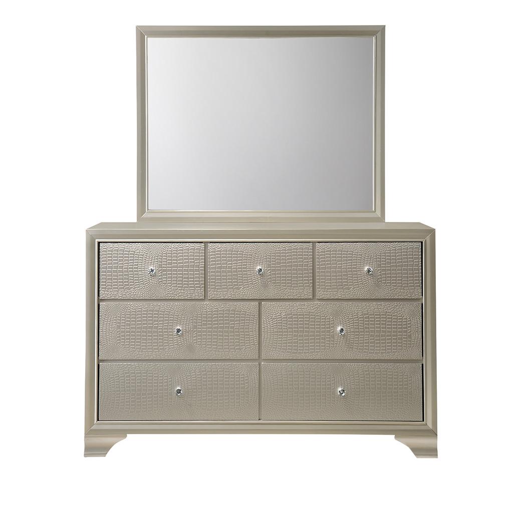 Lyssa Dresser and Mirror
