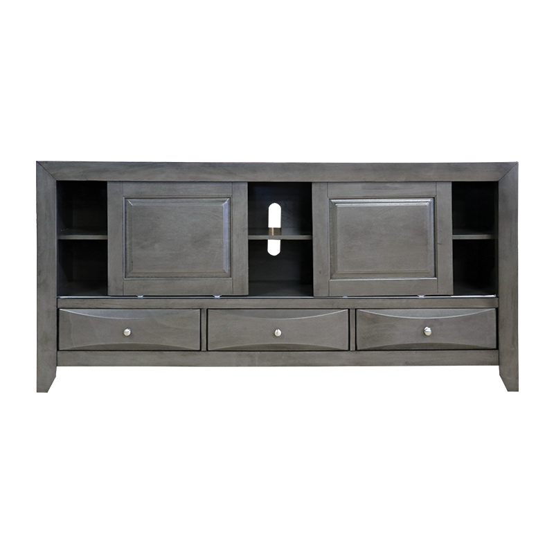 Crown Mark 4270 Emily Grey TV Stand