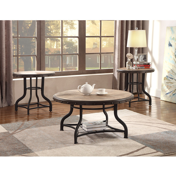 Crown Mark 3172 Kenneth Coffee and End Tables