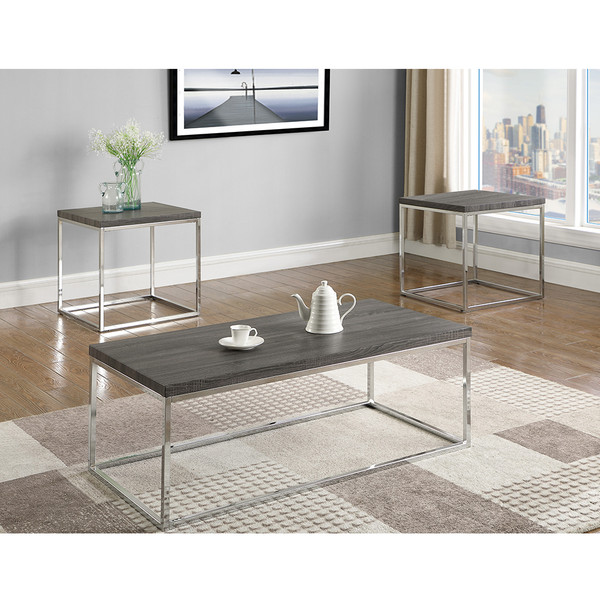Crown Mark 3701 Britt Coffee and End Tables