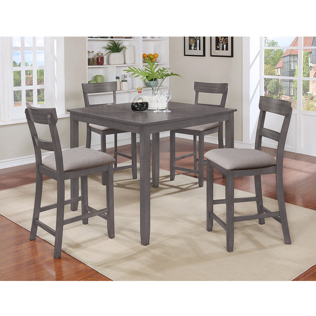Henderson Grey Counter Height Dining Room Set