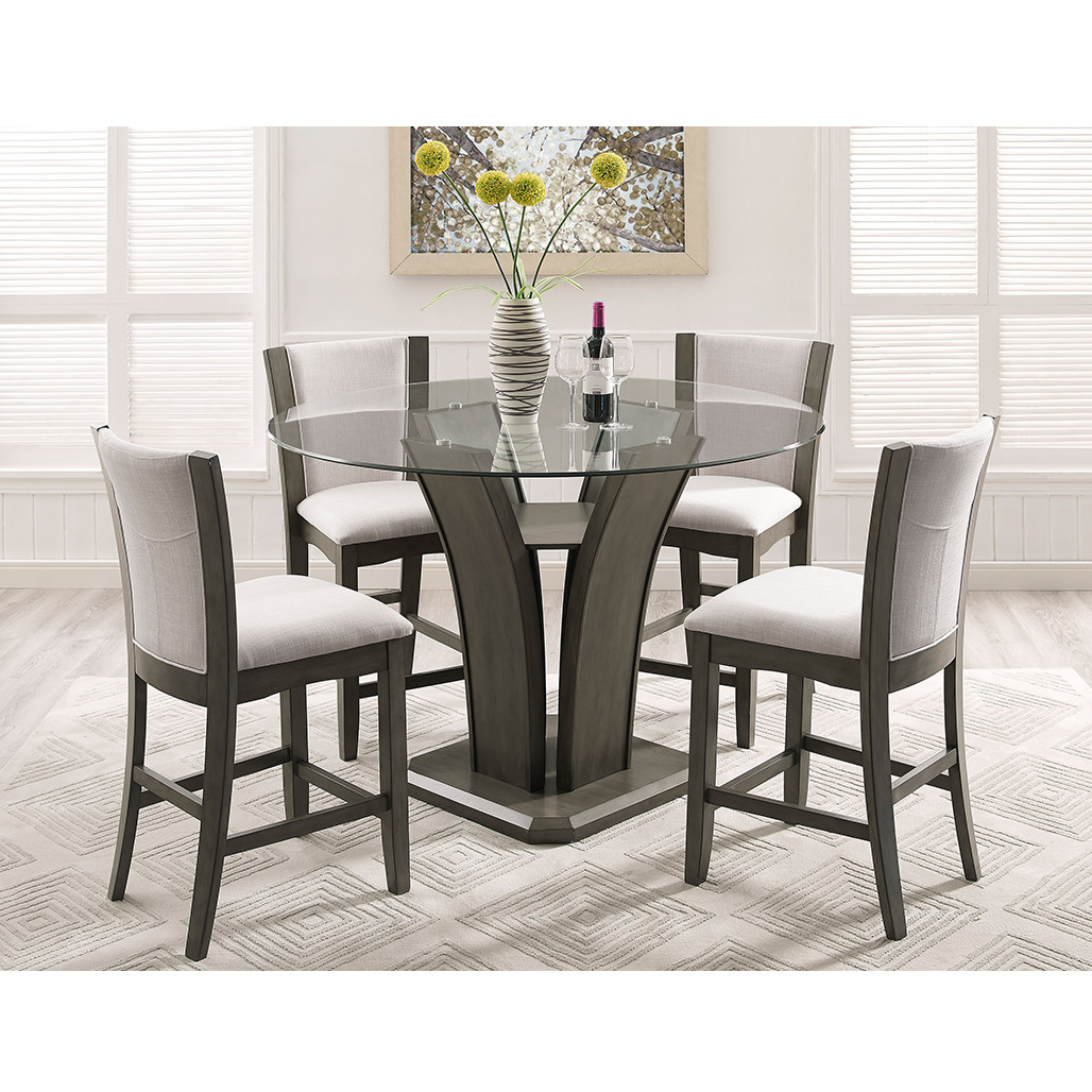 Camelia Grey Counter Height Dining Room Set
