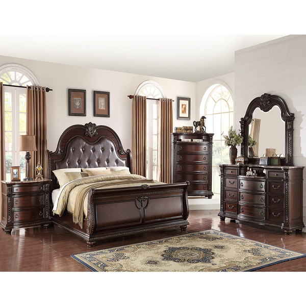 Stanley Cherry Bedroom Set