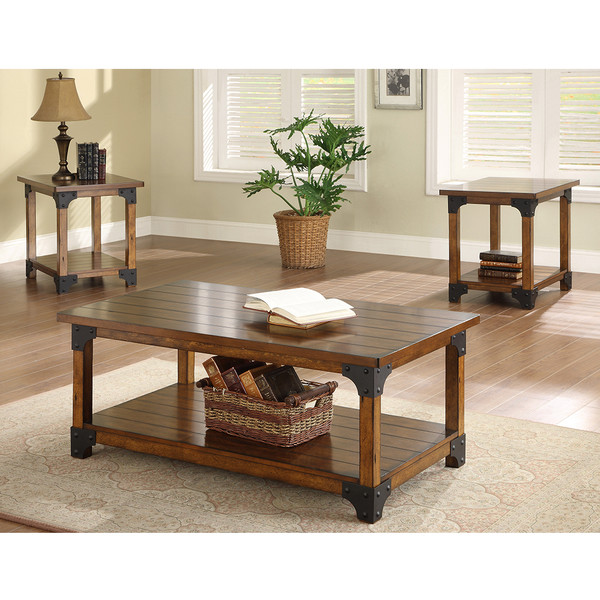 Crown Mark 4159 William Coffee and End Tables