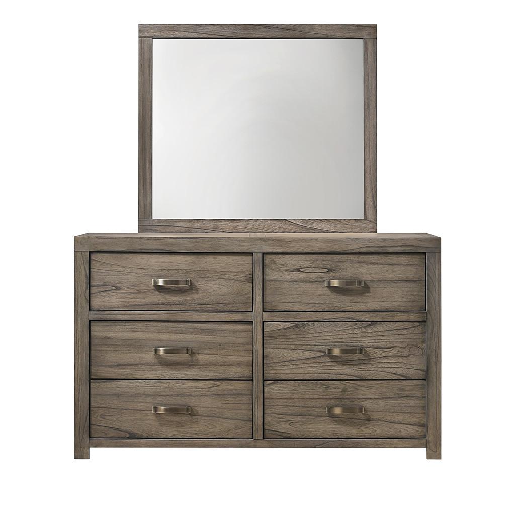 Crown Mark 5600 Arcadia Dresser and Mirror