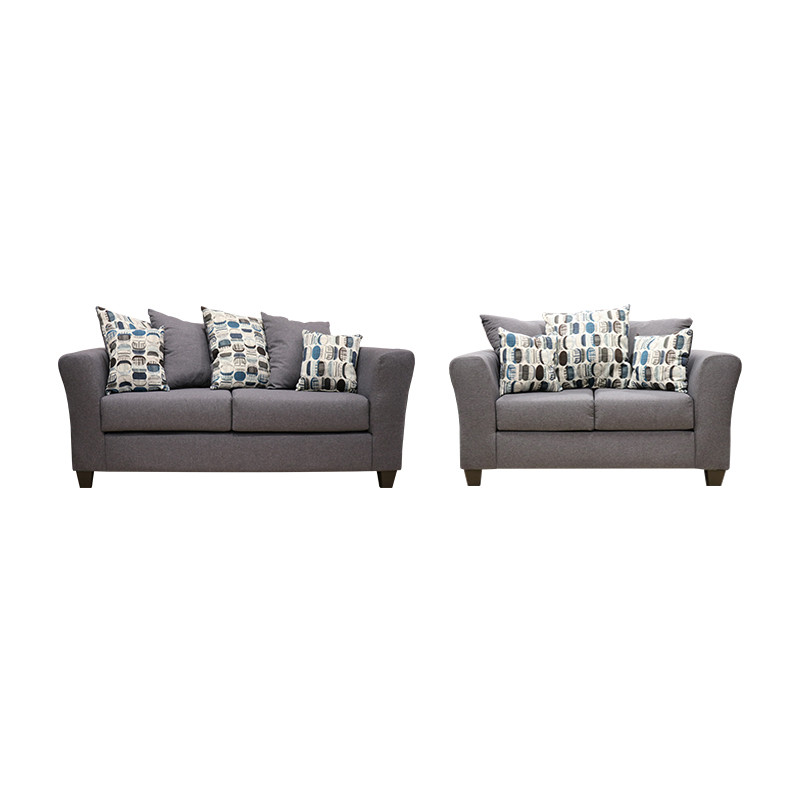 Grey Sofa and Love