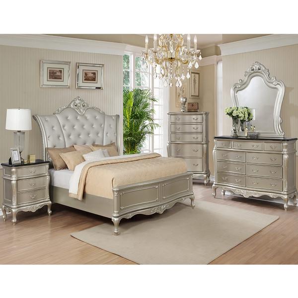 Crown Mark 1020 Angelina Bedroom Set