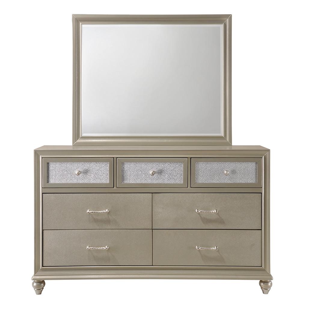 Lila Dresser and Mirror