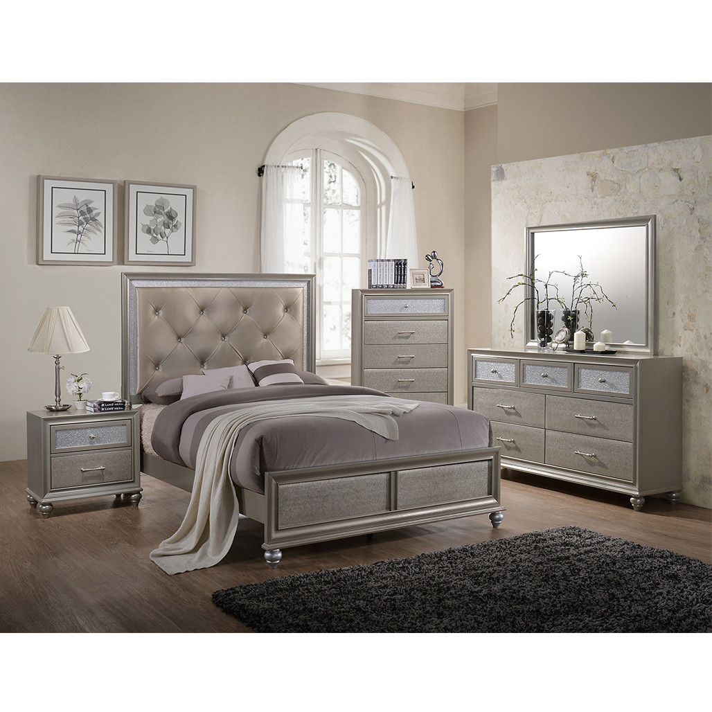 Crown Mark 4390 Lila Bedroom Set