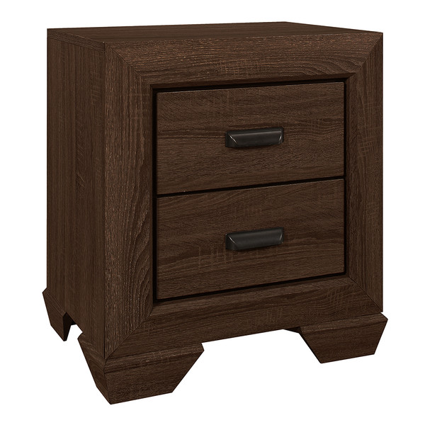 Crown Mark 5510 Farrow Chocolate Nightstand