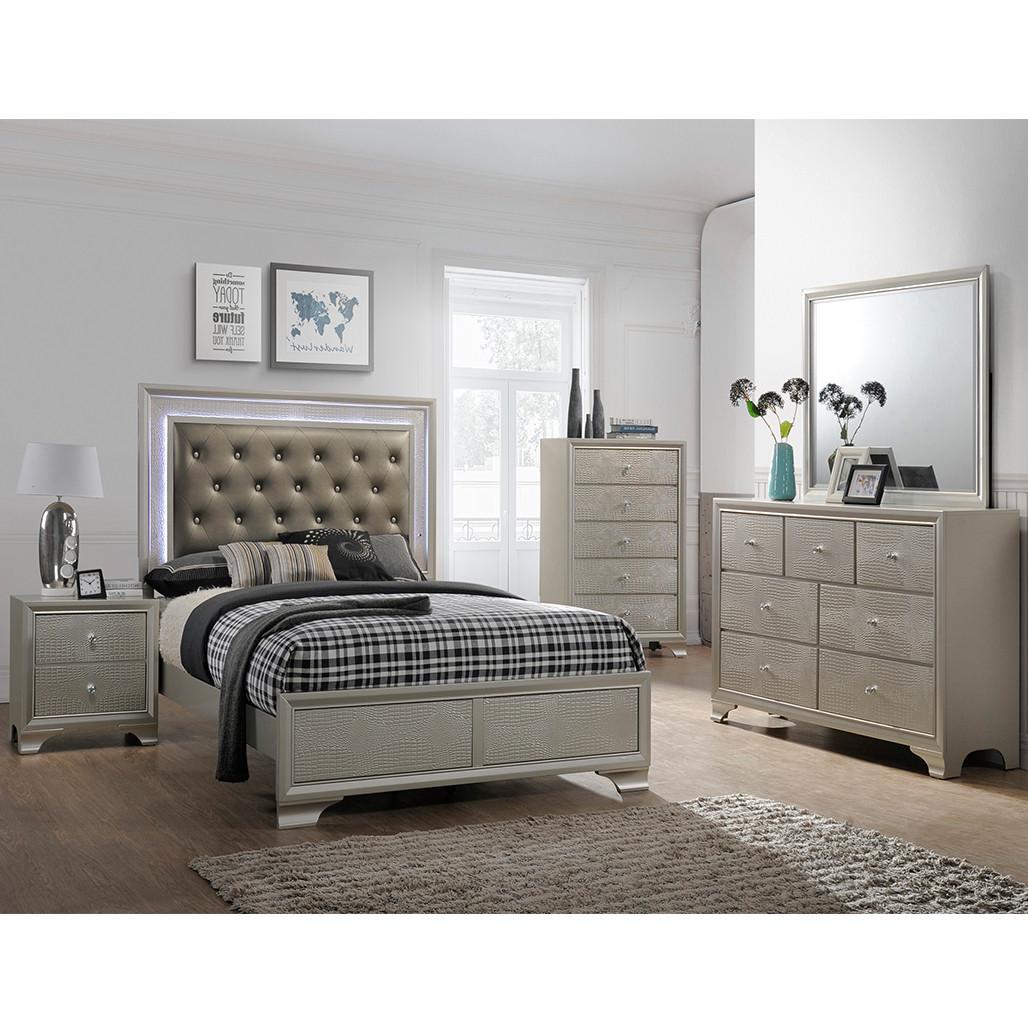 Crown Mark 4300 Lyssa Bedroom Set