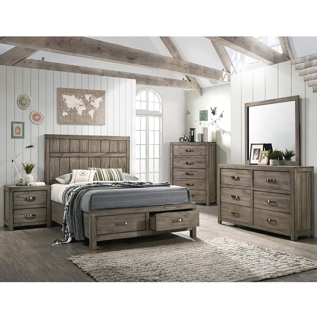 Crown Mark 5600 Arcadia Bedroom Set