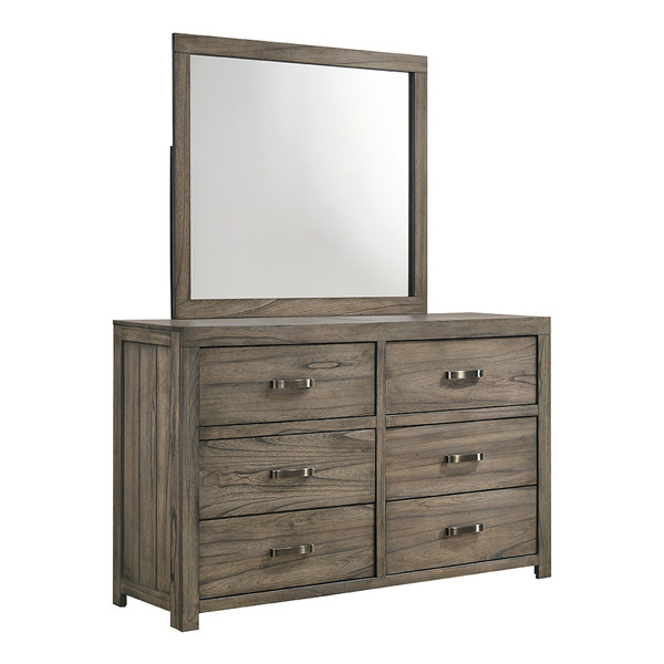 Crown Mark 5600 Arcadia Dresser and Mirror