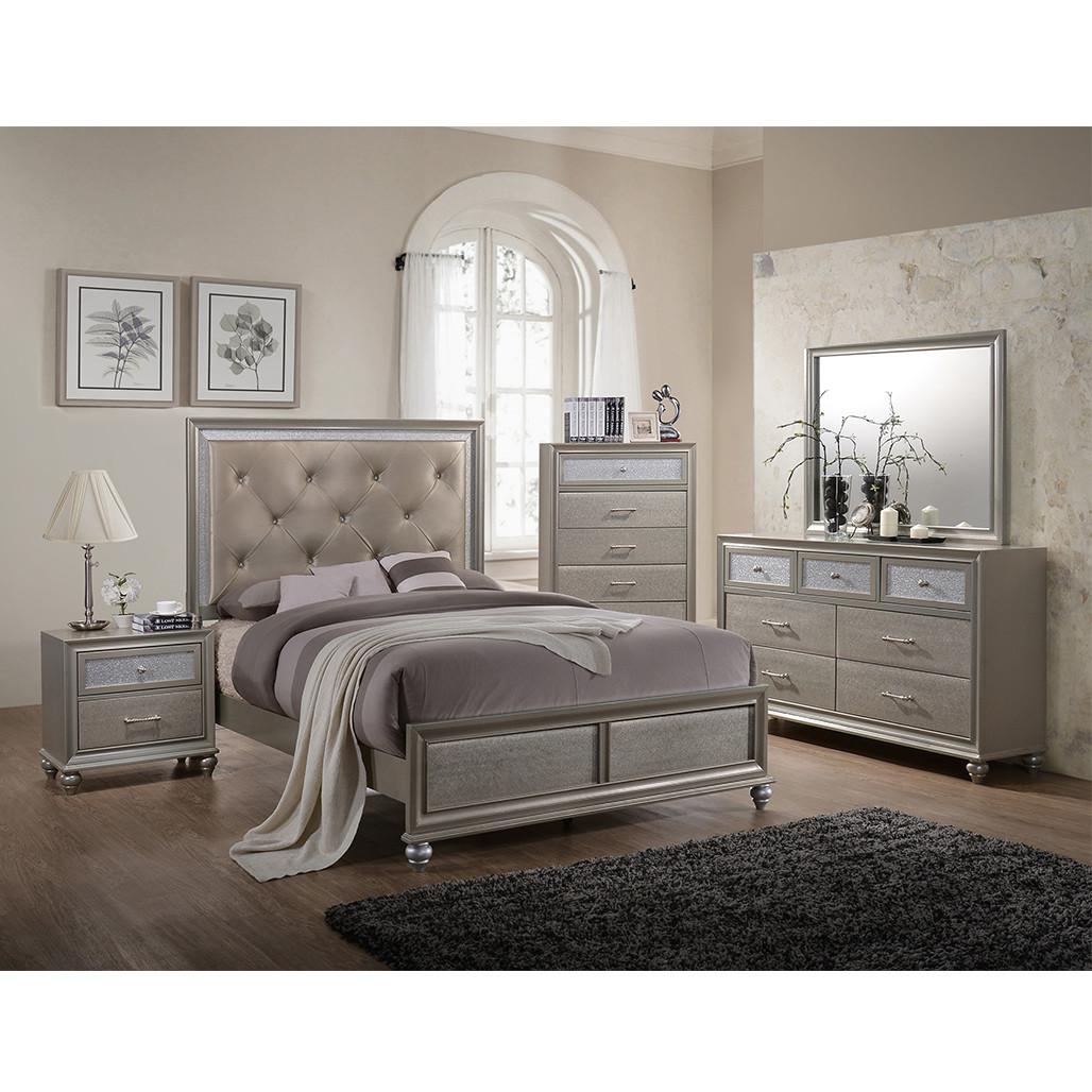 Crown Mark 4390 Lila Bedroom Set