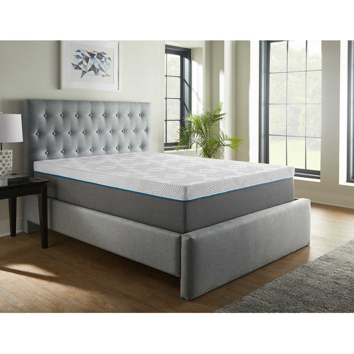 Renue Fourteen Inch Memory Foam Mattress and Box