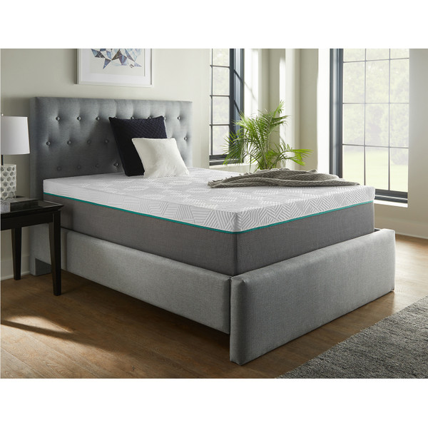 Corsicana 30512 Renue 12 Inch Hybrid Mattress and Box