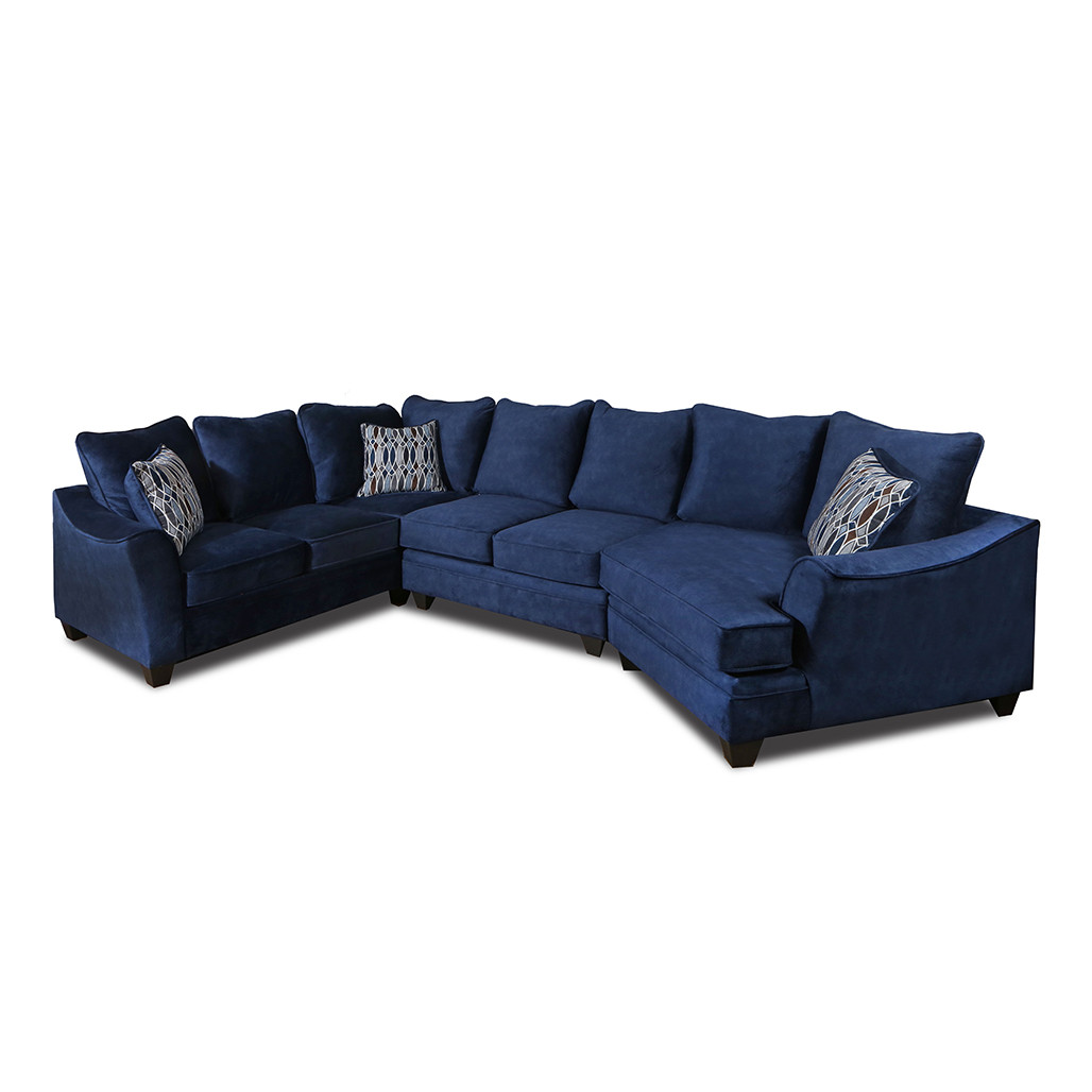 Athena Navy Sectional