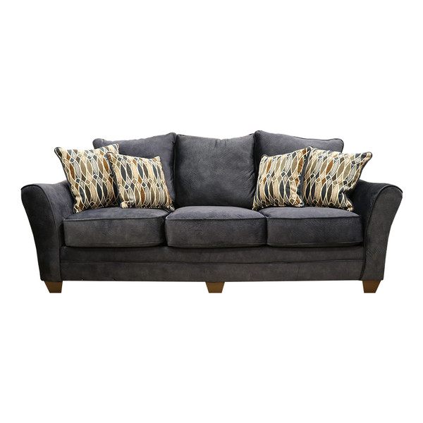 American 3853 Athena Navy Sofa