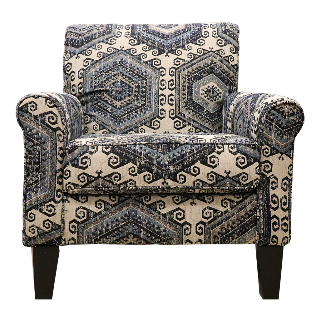 United 2160 Tequila Indigo Accent Chair