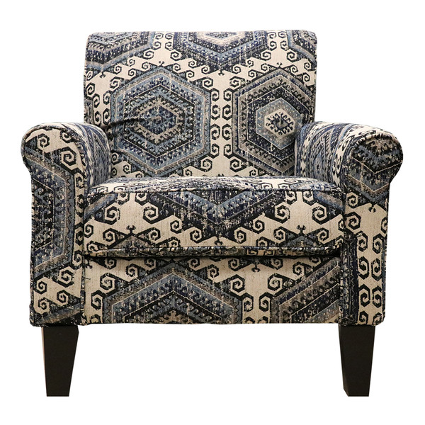 United 2160 Tequila Indigo Accent Chair