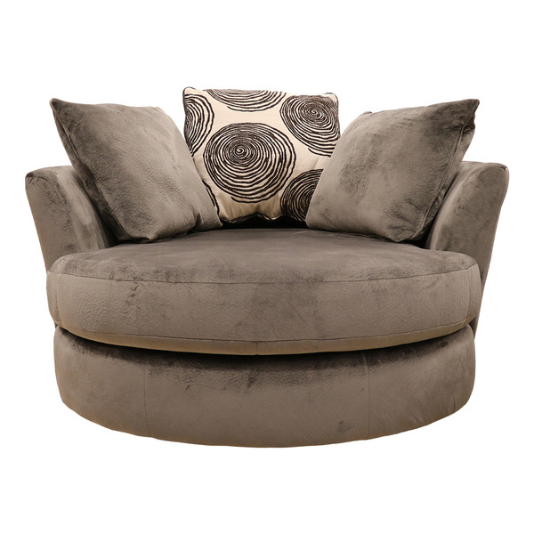 Jamba Fudge Swivel Chair