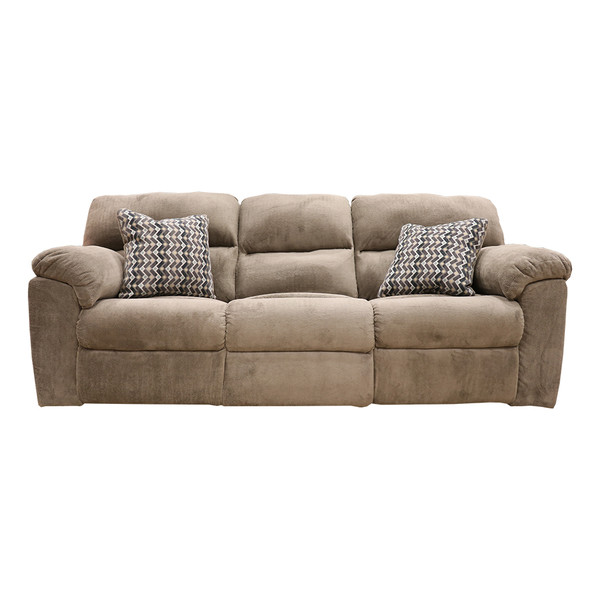 Affordable 1403 Chevron Seal Reclining Sofa