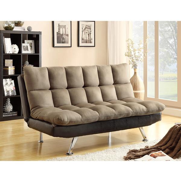Crown Mark 5250 Sundown Pebble Adjustable Sofa