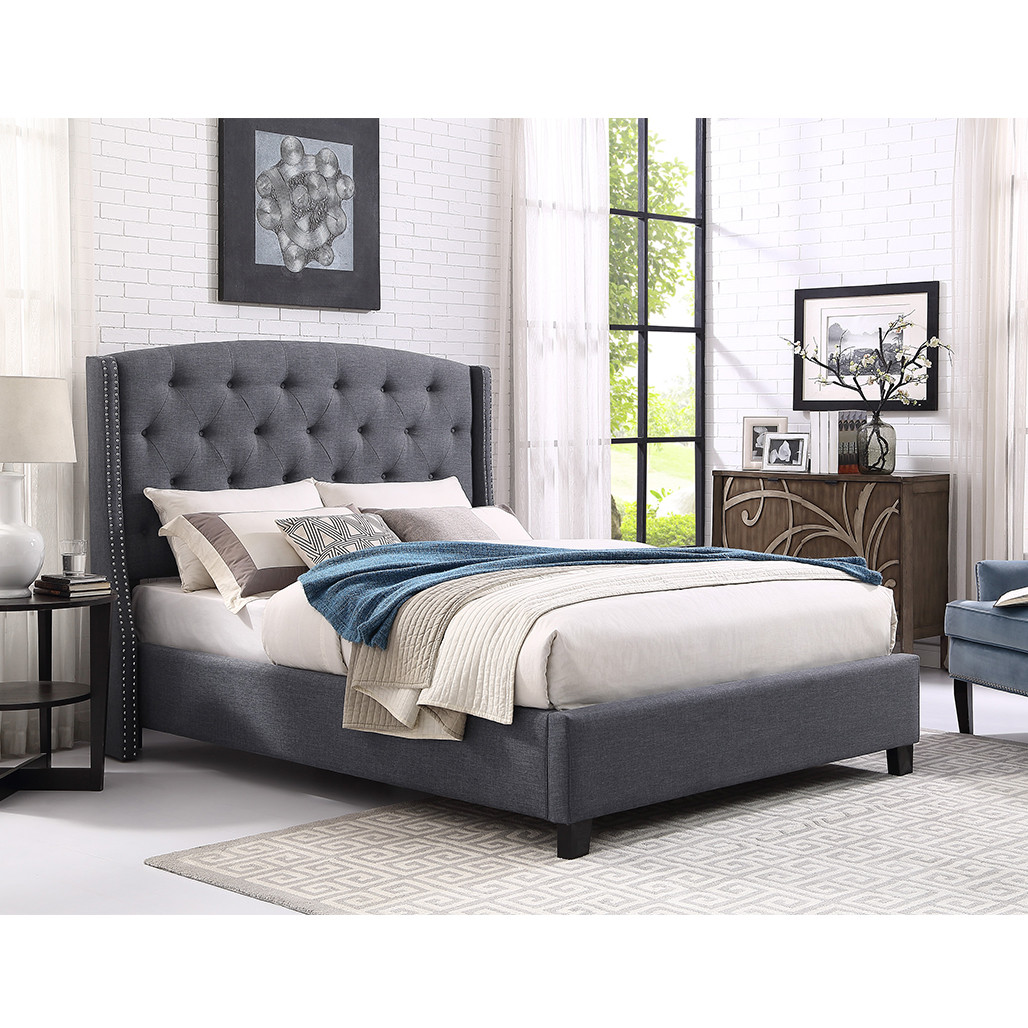 Eva Grey Bed