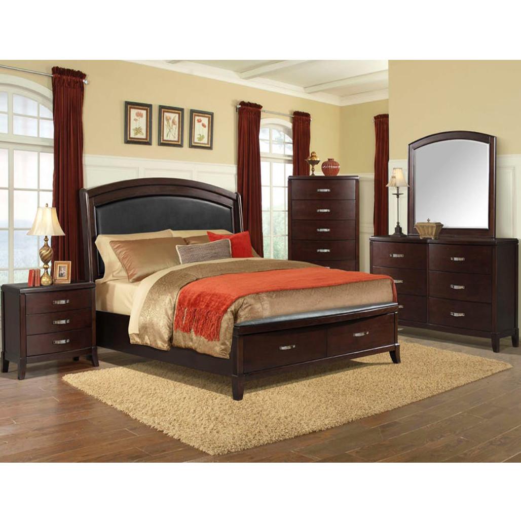 Elements DL600 Delaney Bedroom Set