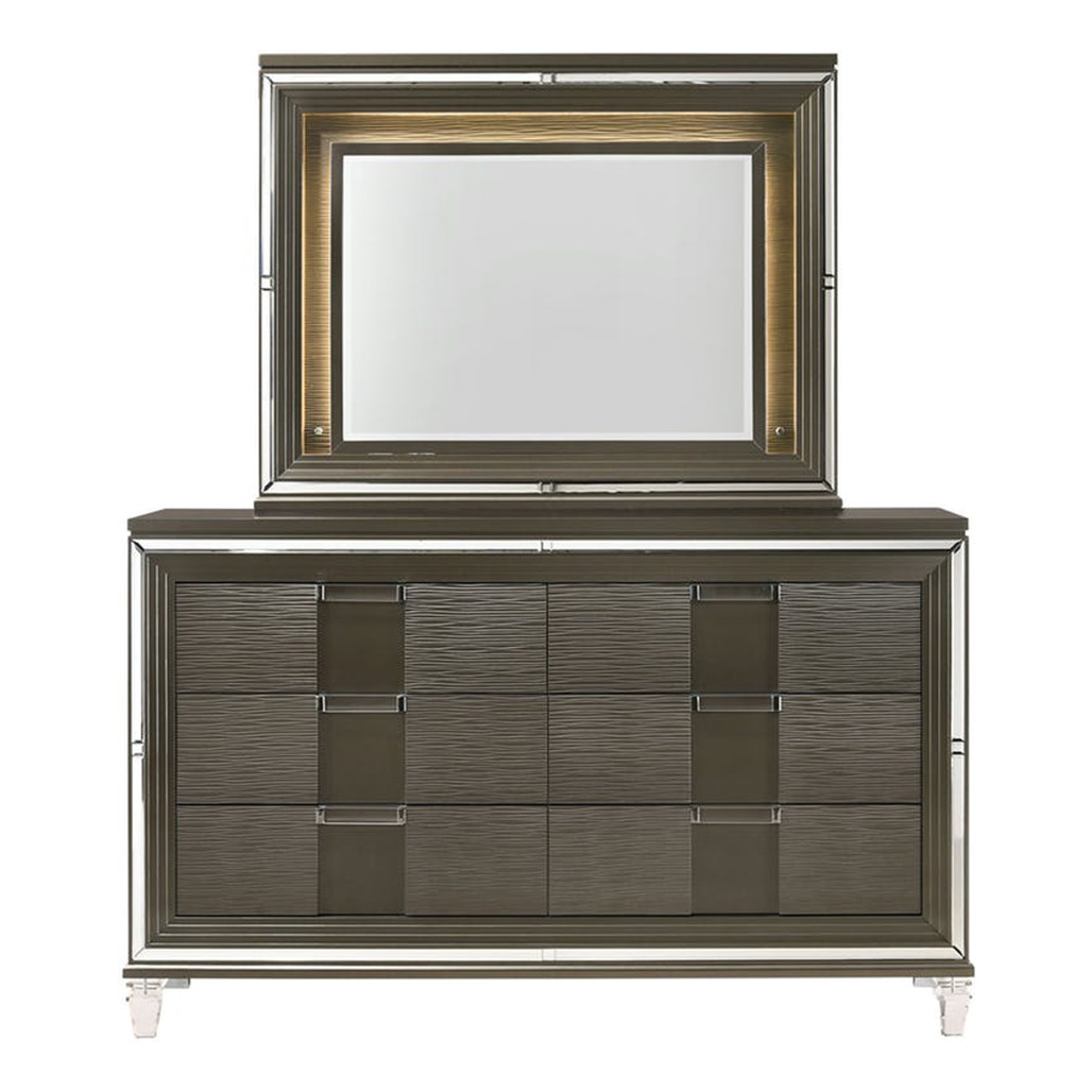 Twenty Nine Dresser and Mirror