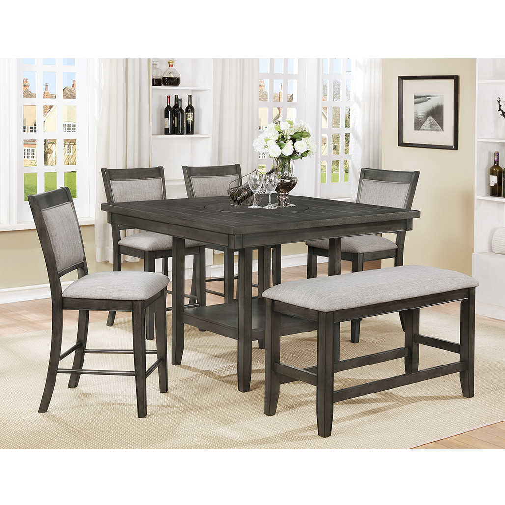 Fulton Grey Counter Height Dining Room Set
