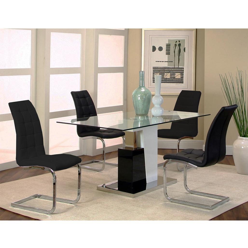 Cramco YM535 Padria Black Dining Room Set