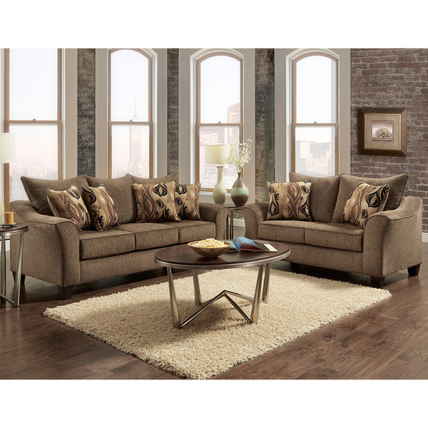 Affordable 7700 Camero Café Sofa and Love,Greater Uptown