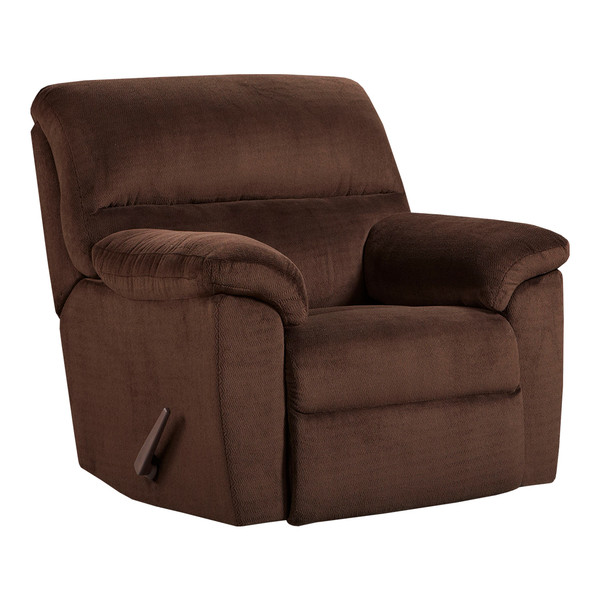 Affordable 2450 Chevron Mink Recliner